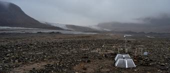 Svět v Arktidě po ústupu ledovce. Kredit: Jan Kavan.