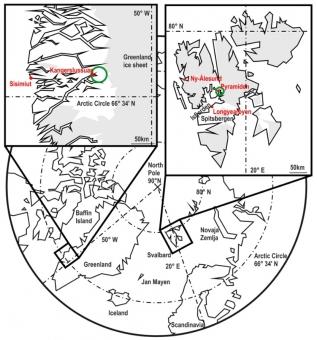 Lokality výzkumu virů přenášených komáry. Kredit: Müllerová et al. (2018).